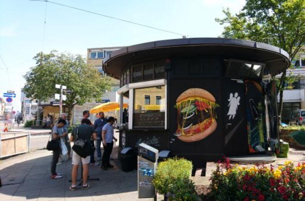 Neuester Burger-Bürger in der Stadt: Der Round House Burger am Stöckach. Foto: Björn Springorum