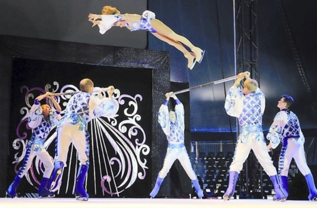 Der Moscow Circus on Ice kommt im Januar in die Stadthalle. Foto: Leonberg