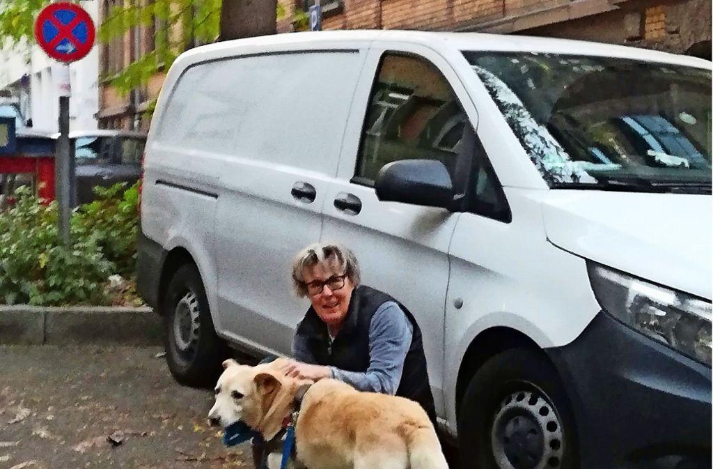 Heike Schiller ärgert sich über das Verhalten vieler Autofahrer. Foto: Cedric Rehman