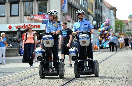 Polizei künftig mit Segways auf Streife