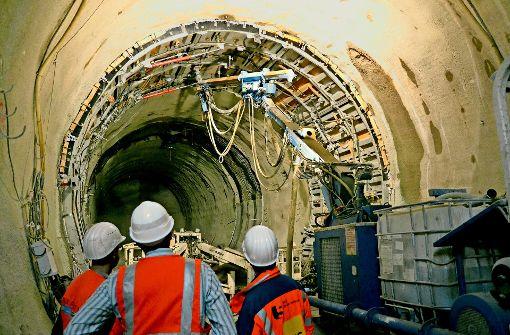 Ringe sollen im Fildertunnel das Bauen im Anhydrit ermöglichen. Foto: mc