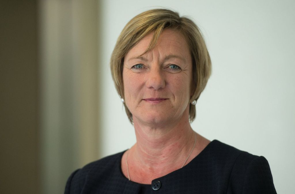 Baden-Württembergs Finanzministerin Edith Sitzmann Foto: dpa