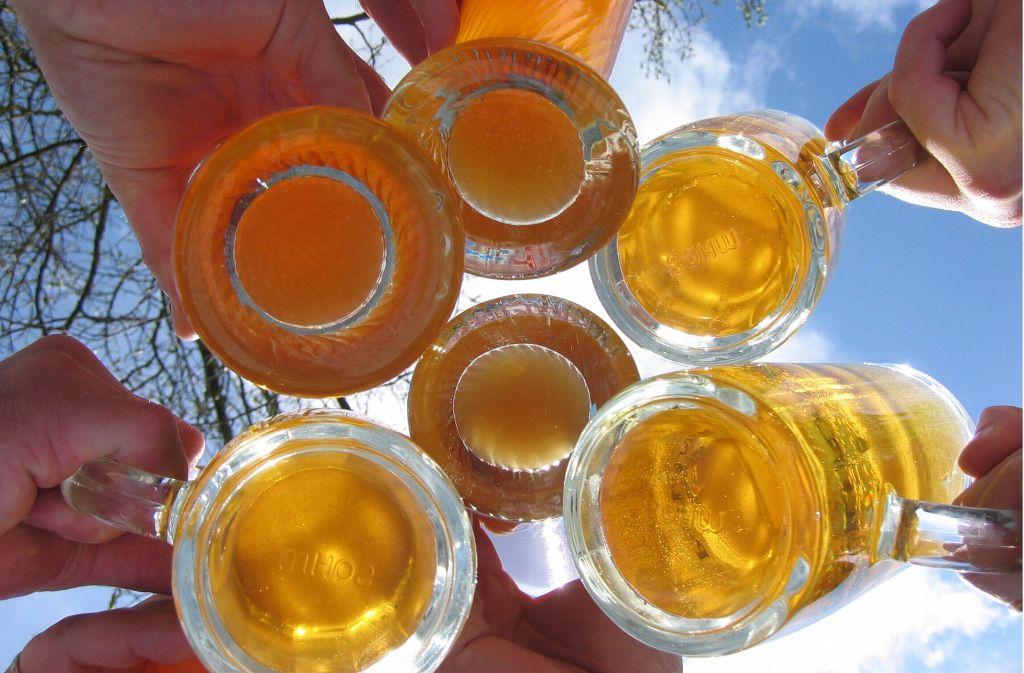 300 Biersorten gibt es bei der Schwäbischen Bierbörse in Böblingen und Sindelfingen. Foto: dpa