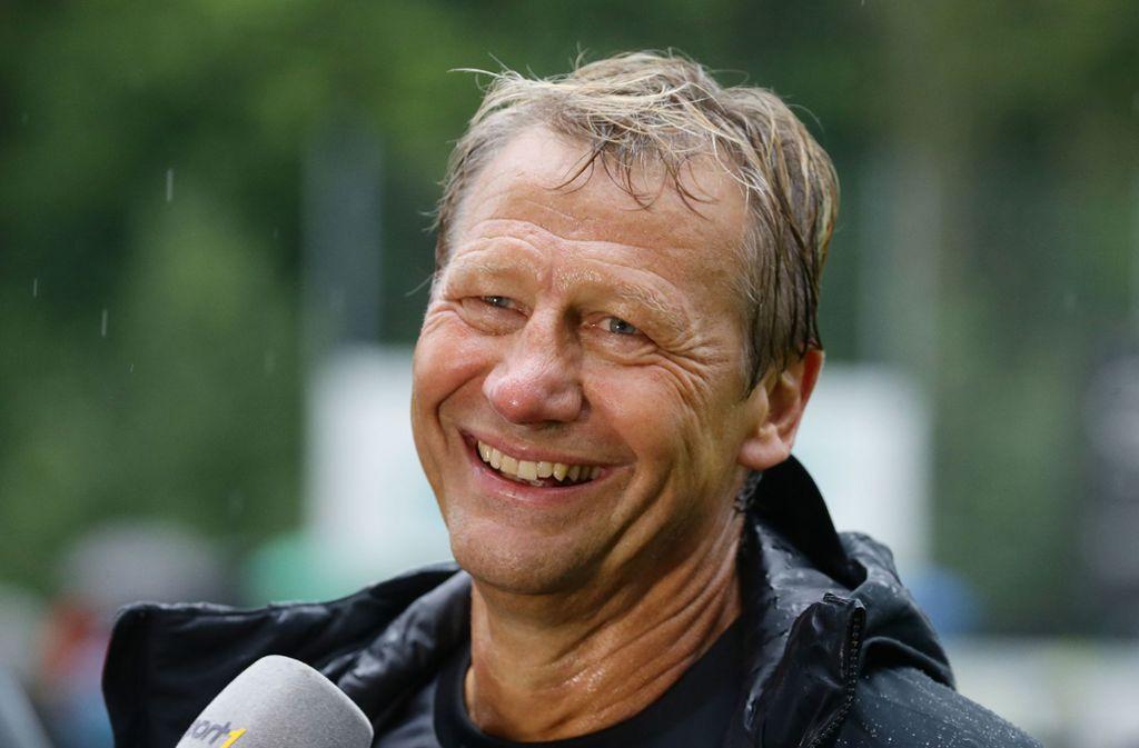 Guido Buchwald wird das Derby kommentieren. Foto: Pressefoto Baumann/Hansjürgen Britsch