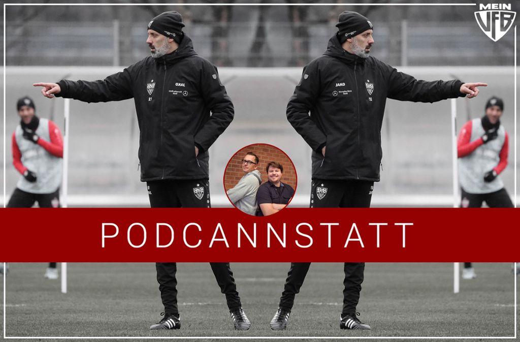 """Der neue Trainer Pellegrino Matarazzo steht unter anderem im Fokus unserer aktuellen Episode des """"PodCannstatt"""". Foto: Baumann/StZN"""