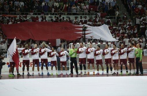 André Bühler kritisiert die zusammengekaufte Mannschaft Qatars Foto: