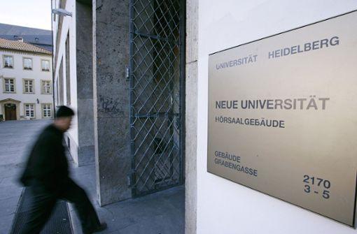 Ein Auftrag der Uni für den Großspender