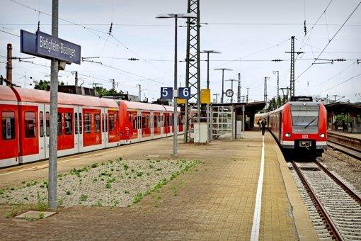Endstation für den Metropolexpress soll am Bahnhof in Bietigheim-Bissingen sein – das Konzept ist umstritten. Foto: factum/Bach
