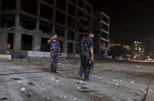Israel bombardiert Gazastreifen