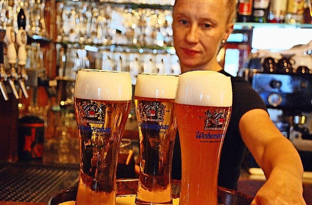 Bier, Bier und nochmals Bier. Während der EM gab es Bier aus aller Herren Länder. Foto: privat