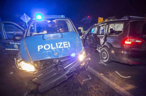 Wenn die Blaulichtfahrt mit Unfall endet