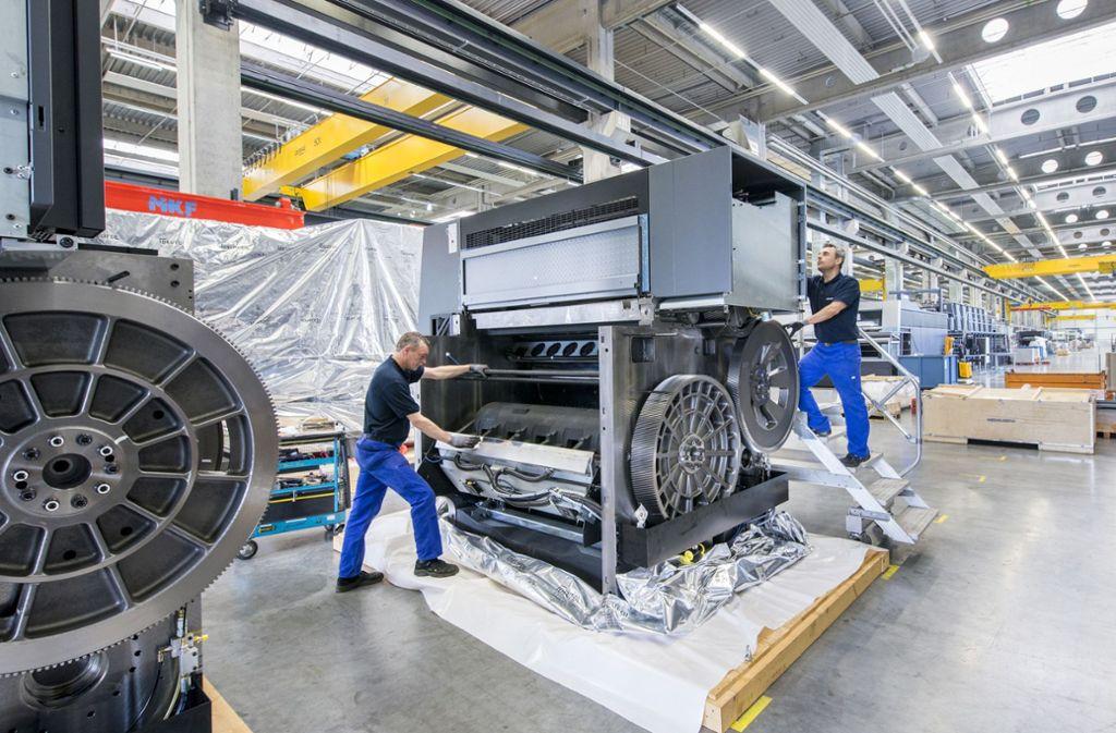 Die Anlagen von   Heidelberger Druckmaschinen  sind  besonders die China gefragt. Foto: Heidelberger  Druckmaschinen