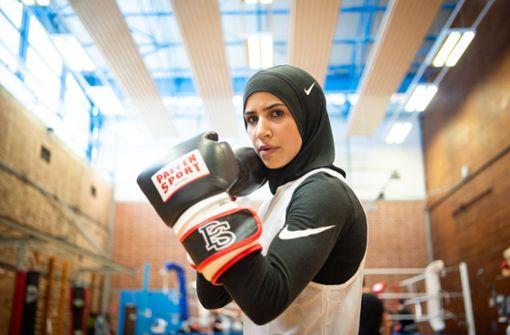 Deutsche Box-Meisterin will mit Kopftuch zu Olympia
