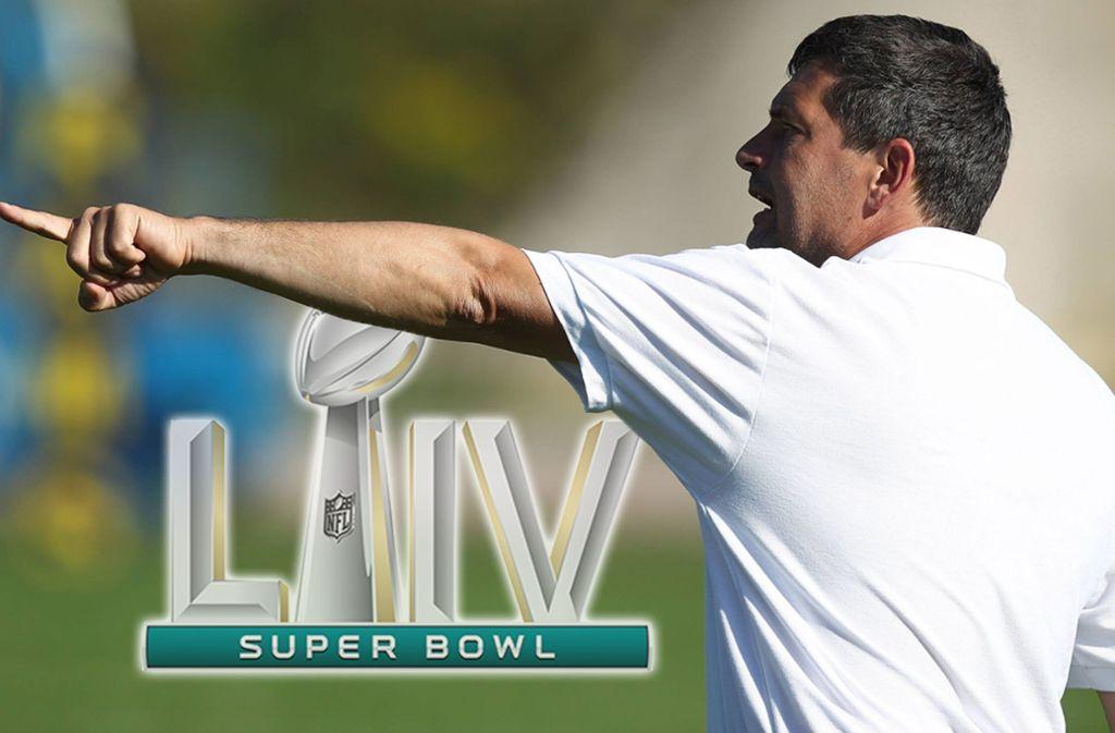 Scorpions-Cheftrainer Martin Hanselmann freut sich auf den Super Bowl. Foto: imago sportfotodienst