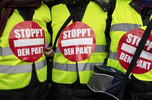 AfD-Kundgebung auf dem Kronprinzplatz