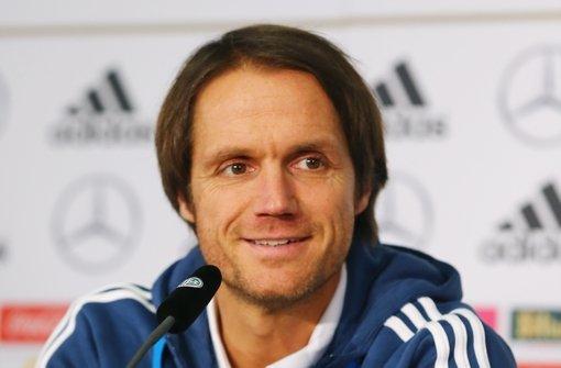 DFB-Co-Trainer Schneider wäre mit einem 6:0 zufrieden