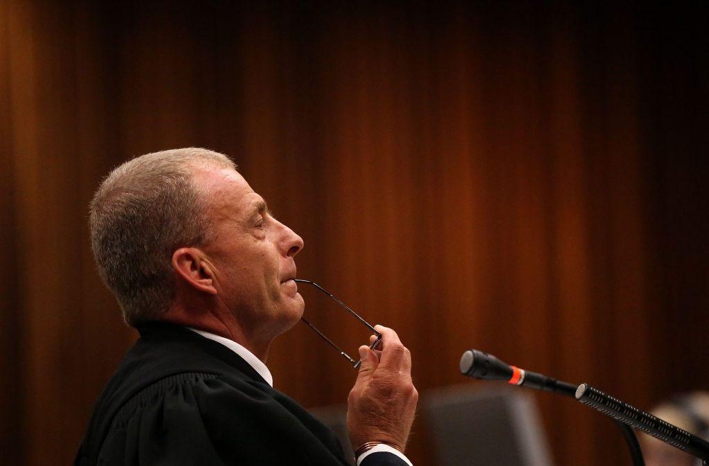 "Hat künftige ""andere Dinge zu tun"": Staatsanwalt Gerrie Nel. Foto:"