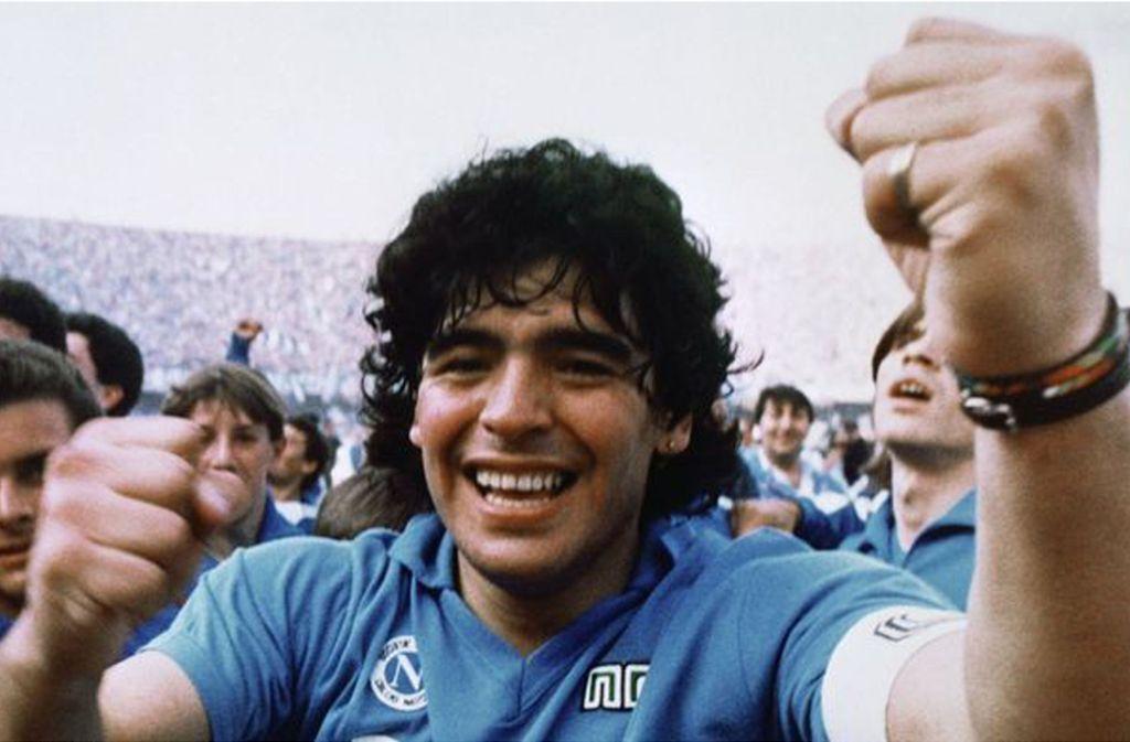 Ein  begnadeter Fußballer: Maradonna Foto: glomex