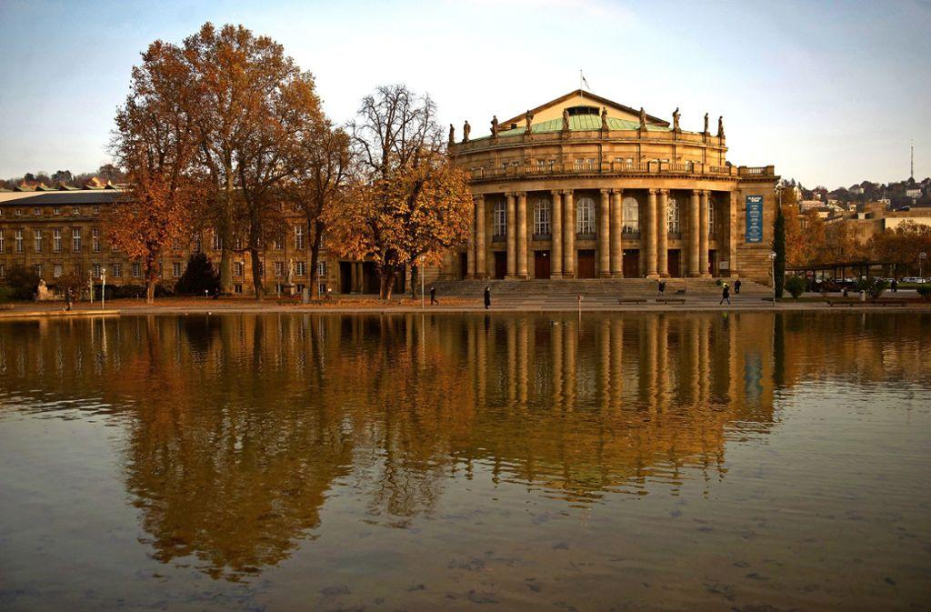 Auch die Stuttgarter Staatstheater  legen eine Pause ein. Foto: dpa/Marijan Murat