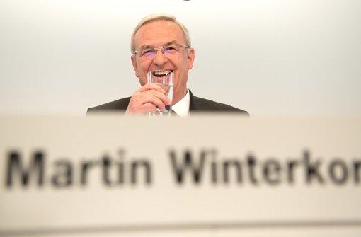 VW-Chef Winterkorn sagt wegen Grippe ab