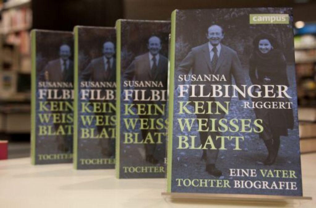 Trotz des Protests ihrer Geschwister: Susanne Filbinger-Riggerts umstrittenes Buch über die Tagebücher ihres Vaters liegt seit Donnerstag in den Buchhandlungen. Foto: dpa