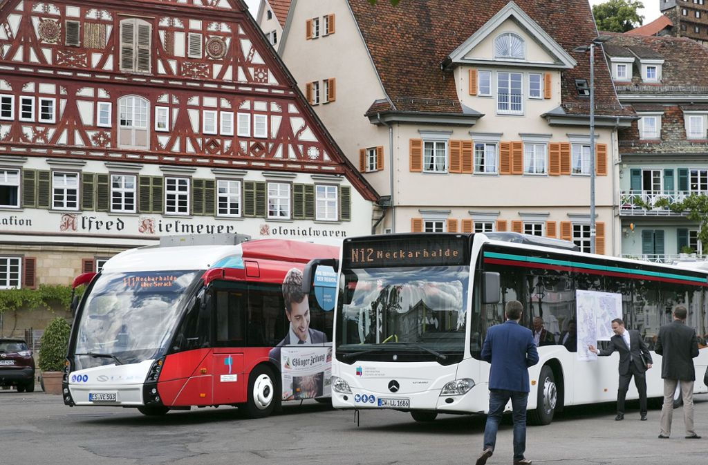 Das Stadtticket kommt in Esslingen überaus gut an. Foto: /Horst Rudel