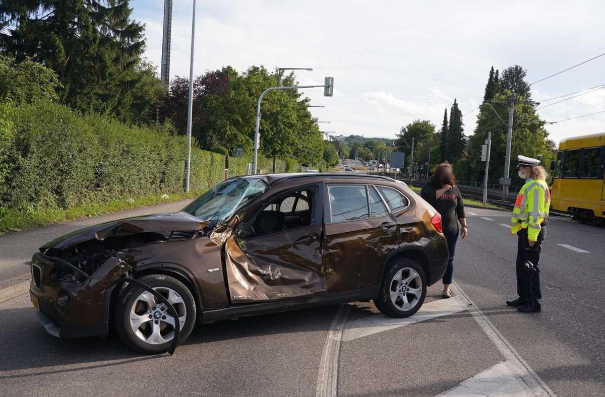 Der Unfall ereignete sich im Weilimdorfer Stadtteil Wolfbusch. Foto: Andreas Rosar/Fotoagentur-Stuttgart