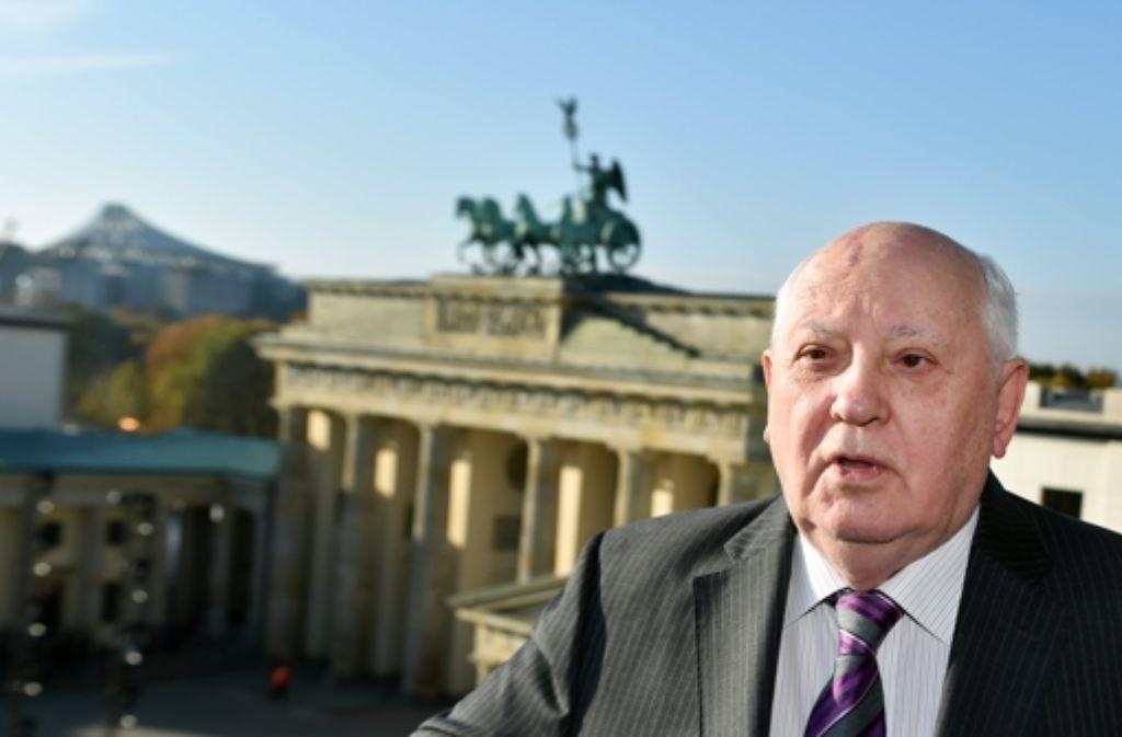Gorbatschow warnt vor einem neuen Kalten Krieg. Foto: dpa