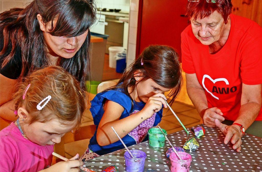Das Programm bei der Awo-Stadtranderholung in Eltingen kommt gut an. Foto: factum/Granville
