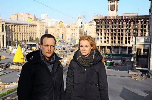 Der Maidan steht zwischen ihnen