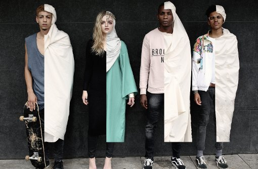 Balance zwischen Mode und Glaube