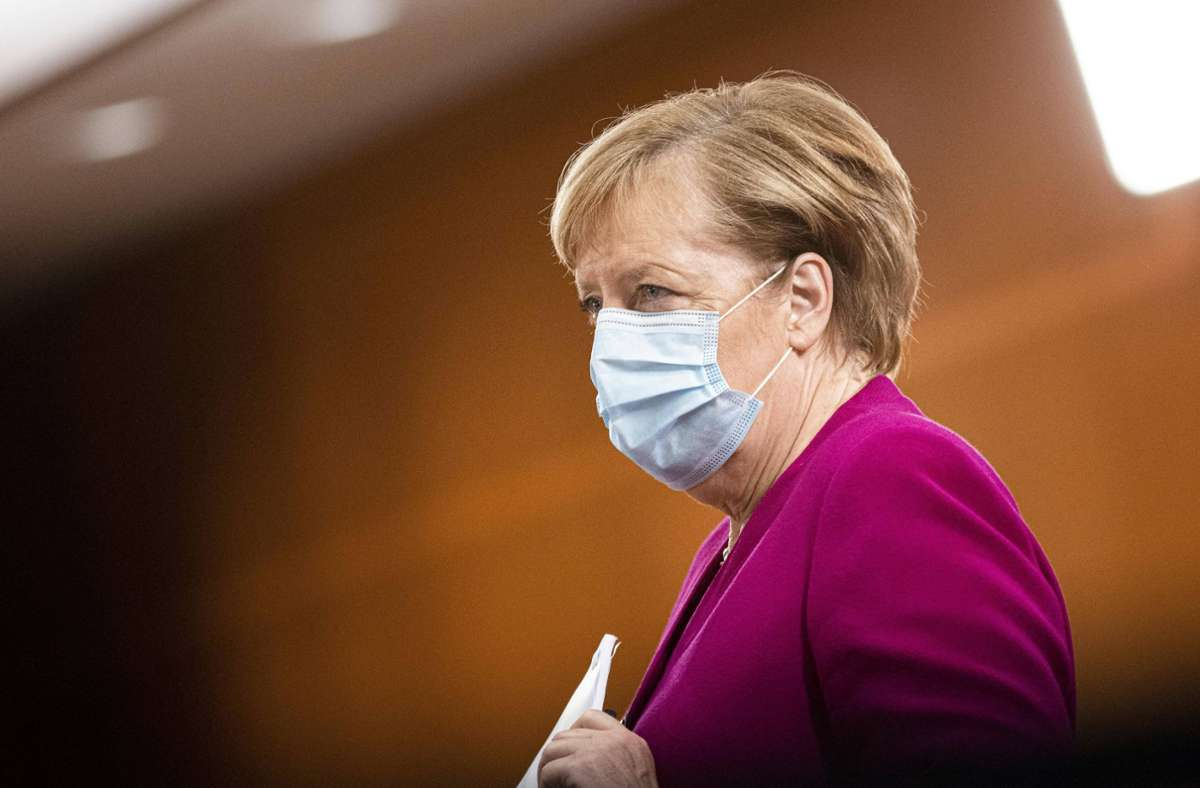Angela Merkel war mit den Gesprächen nicht zufrieden. Foto: imago images/photothek/Florian Gaertner/photothek.net via www.imago-images.de