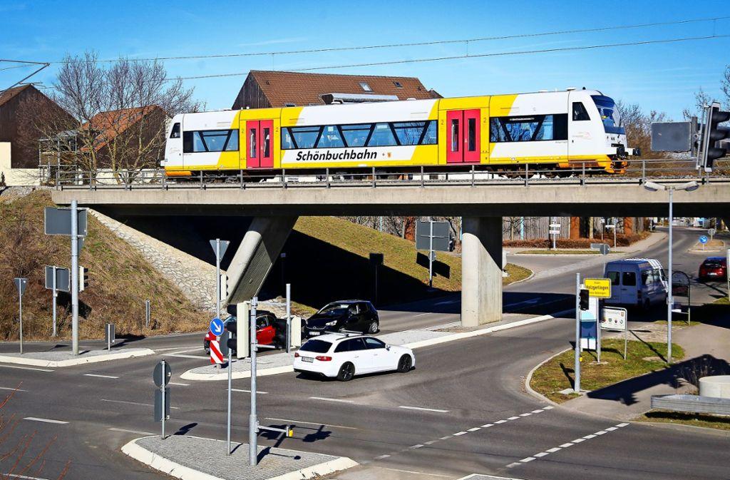 Nur auf einem Teil der Strecke unterwegs: die Schönbuchbahn Foto: factum/