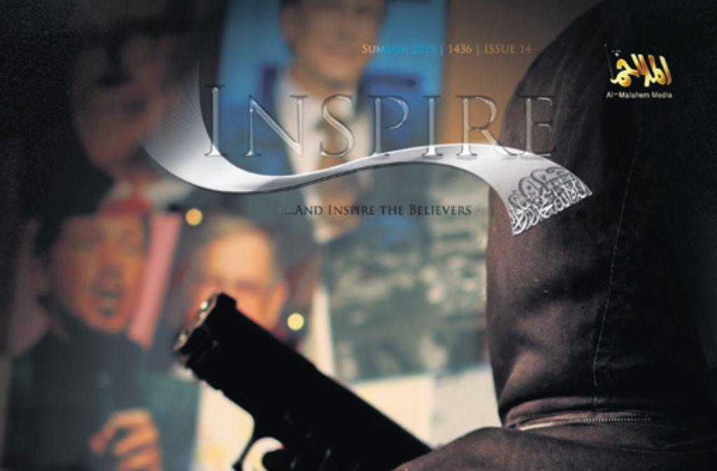 "Das Magazin ""Inspire"" soll den Dschihad ins Kinderzimmer bringen. Foto: Inspire-Magazin"
