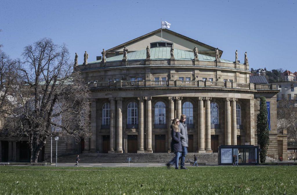 Blick auf die Oper in Stuttgart: Die Kultur im Südwesten kommt Stück für Stück zurück. Foto: Lichtgut/Julian Rettig