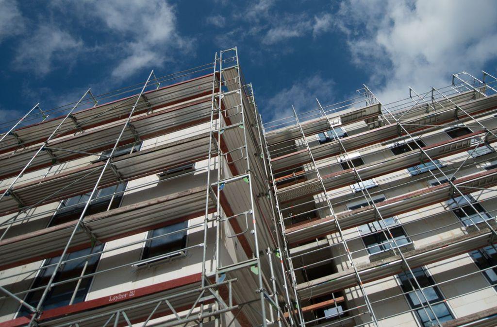 Beim Wohnungsbau legt die Stadt jetzt Wert auf einen noch höheren Anteil an geförderten Wohnungen. Foto: dpa