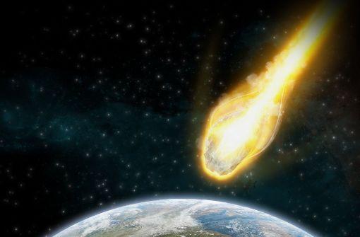Asteroiden Einschlag