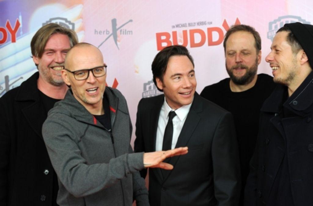 Buddy-Premiere in München: Der Titelsong des neuen Bully-Films kommt von den Fanta 4. Foto: Getty Images Europe