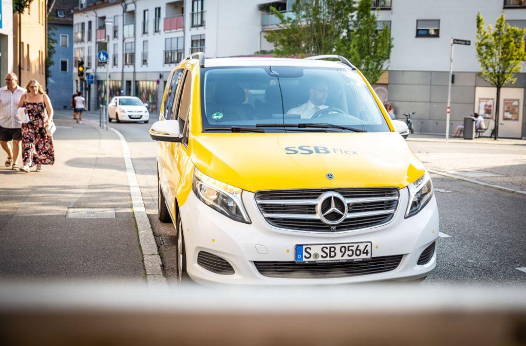 So sehen die Flex-Busse, im engeren Sinn höchstens Kleinbusse, aus. Foto: Lichtgut/Julian Rettig