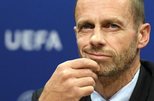 UEFA-Präsident im Amt bestätigt