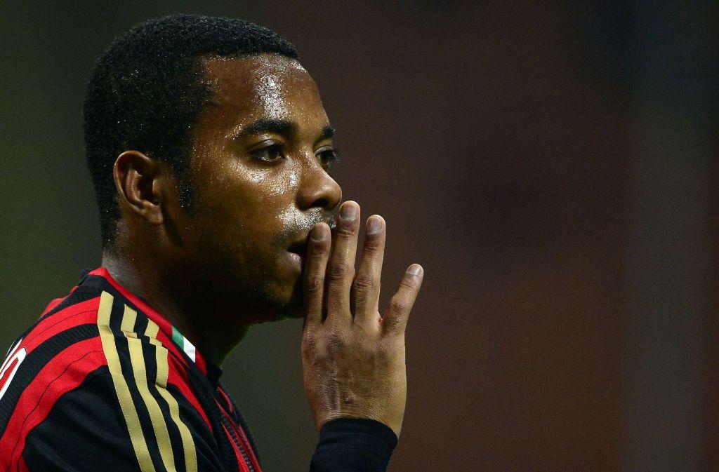 Ex-Fußballer Robinho ist zu neun Jahren Haft verurteilt worden. Foto: AFP