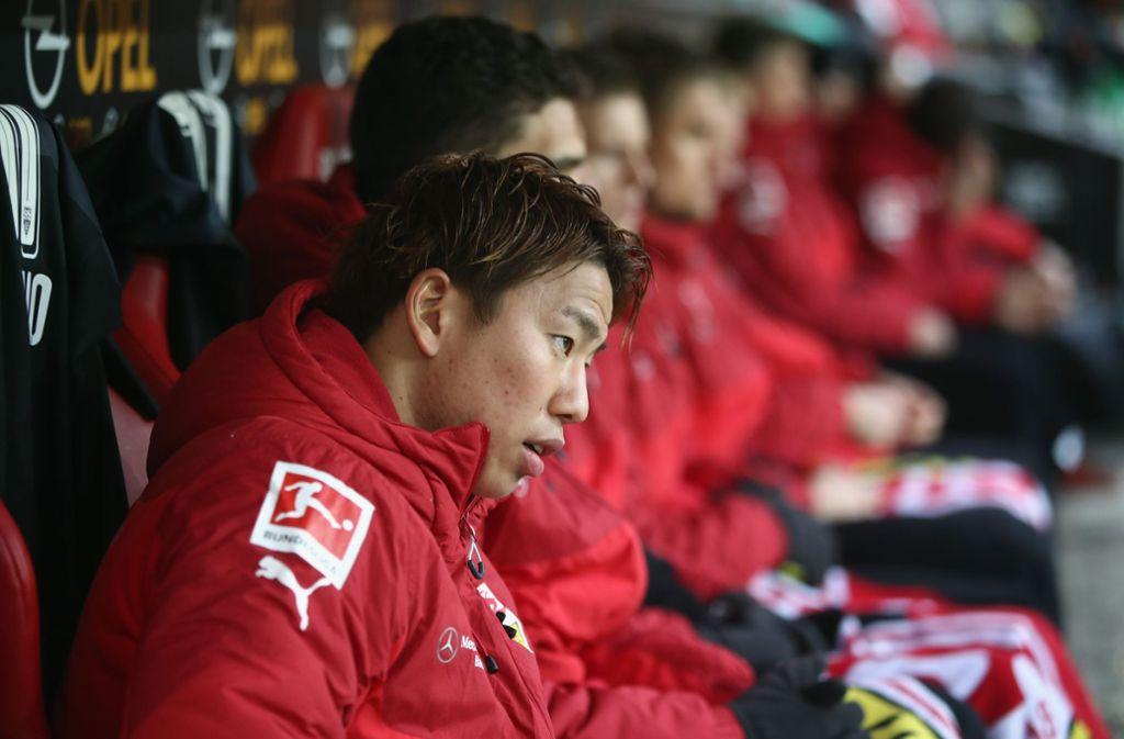 In der Erstliga-Rückrunde hat Asano für den VfB  noch gar nicht gespielt. Foto: Bongarts