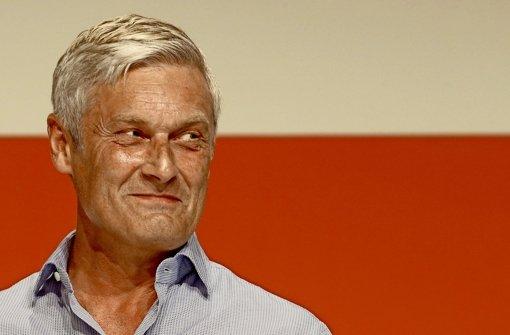 Auf dem neuen Trainer Armin Veh ruhen beim VfB viele Hoffnungen. Foto: Baumann