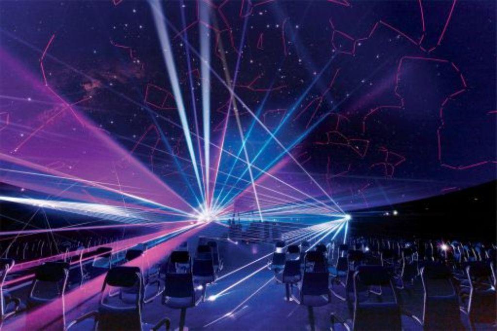 Eindeutig zu schade für Raketenstarts und Kindergeburtstage: Das Planetarium. Foto: Planetarium