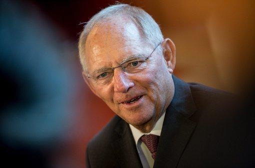 Schäuble befürchtet keine Spaltung von CDU und CSU