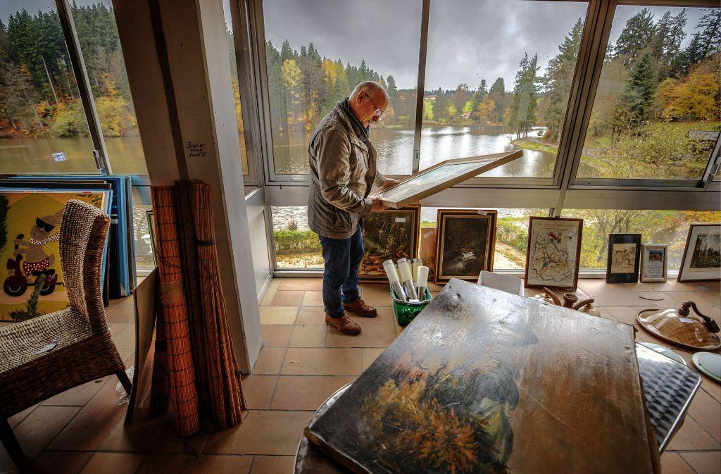Nicht nur die Aussicht auf den See ist für Schnäppchenjäger phantastisch. Foto: Gottfried Stoppel