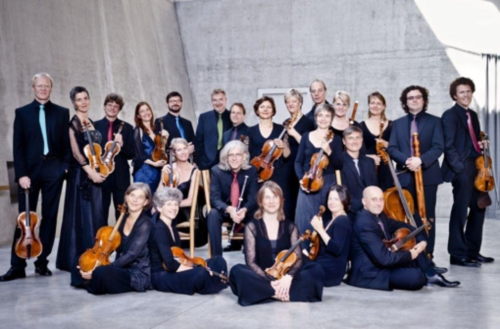 Das Freiburger Barockorchester Foto: Marco Borggreve