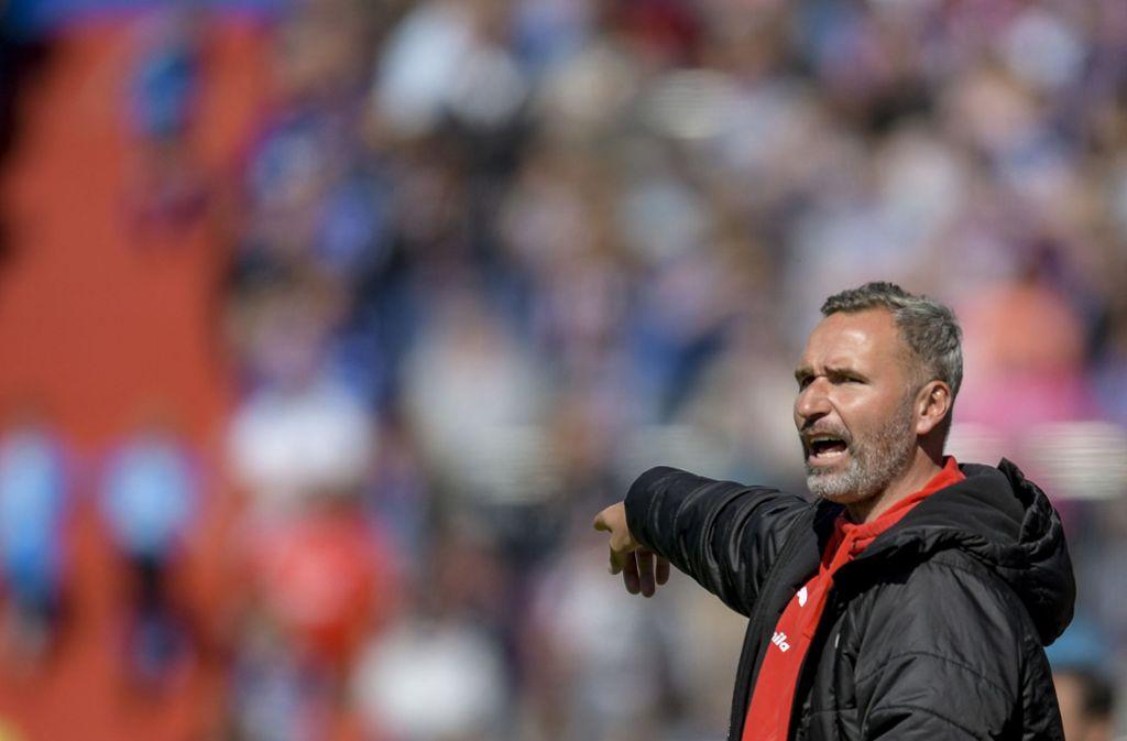 Tim Walter gibt als neuer Cheftrainer beim VfB Stuttgart die Richtung vor. Foto: dpa