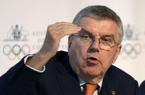 IOC-Präsident  will weiter machen