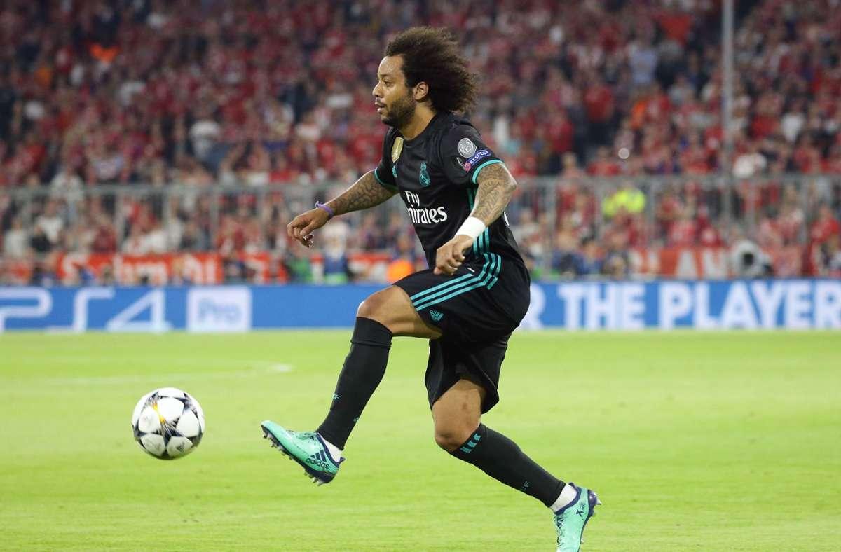 Real-Spieler Marcelo  könnte dem Topklub in der Champions League  fehlen, weil er als Wahlhelfer ausgelost wurde. (Archivbild) Foto: Pressefoto Baumann/Hansjürgen Britsch